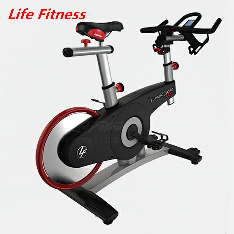 Life Fitness 力健进口直立动感单车家庭用室内磁控动感单车